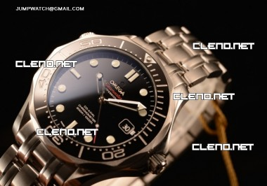 OMEGA SEAMASTER DIVER 300M OMEGA AUTOMATIC 1:1 CLONE WITH CERAMIC BEZEL (BP)