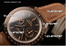 Speedmaster Moonwatch Co-Axial Chrono Ceramic Case...