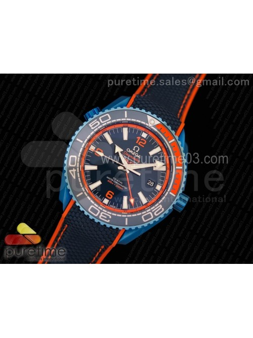 Planet Ocean 45.5mm Big Blue Ceramic GMT OMF Best ...