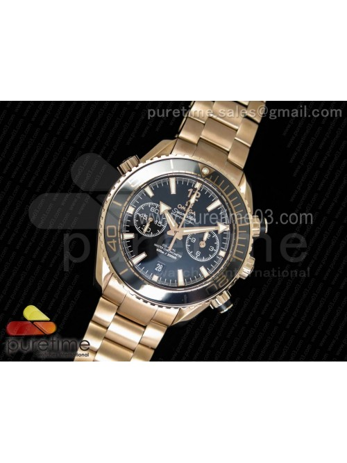 Planet Ocean Master Chronometer OMF RG Black Polis...