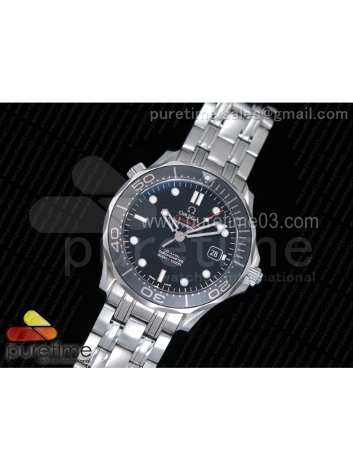 Seamaster 300M Chronometer SS Black OMF 1:1 Best E...
