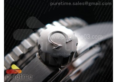 Planet Ocean Professional Orange Bezel 45mm 1:1 OMF Best Edition on SS Bracelet A8500 (Black Balance Wheel)