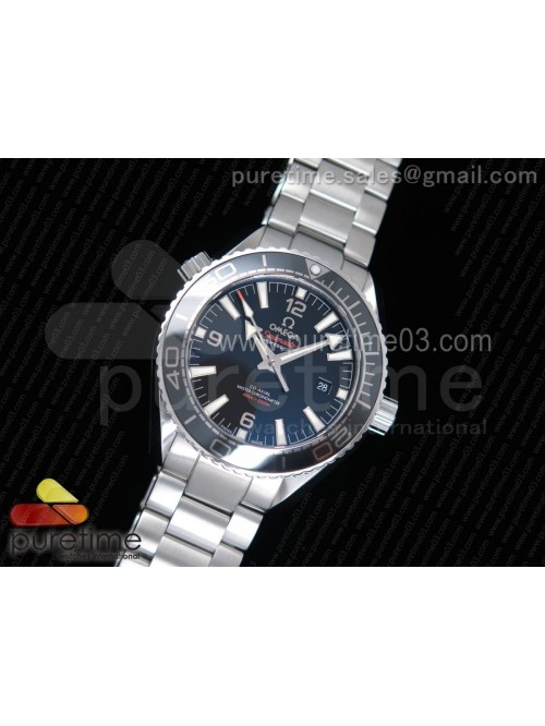 Planet Ocean 42mm SS OMF 1:1 Best Edition Black Li...