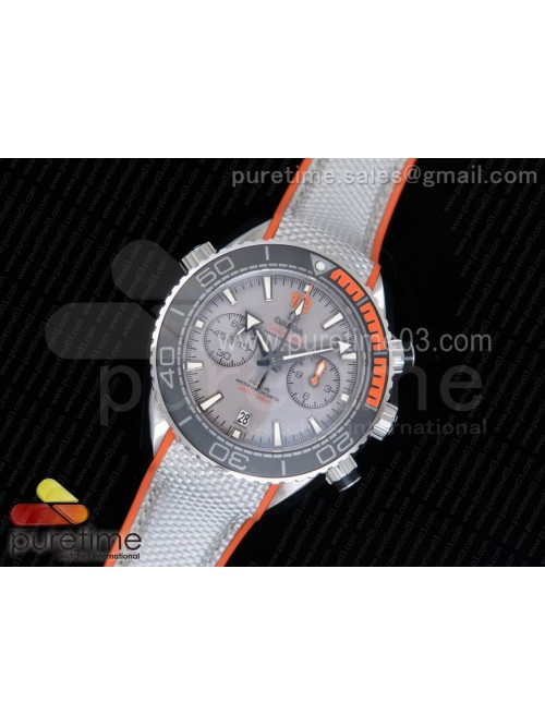 Planet Ocean Master Chronometer OMF SS Black/Orang...