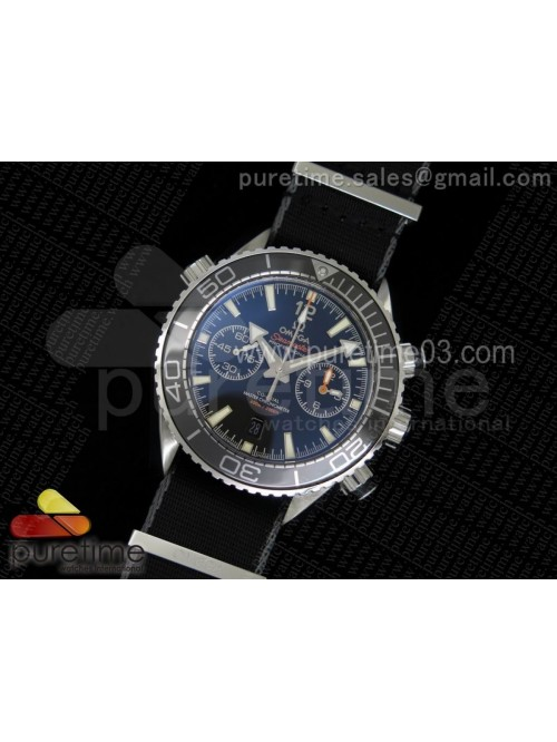 Planet Ocean Master Chronometer Chrono SS Black Be...