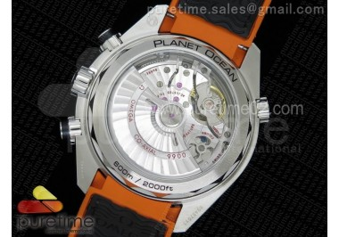 Planet Ocean Master Chronometer Chrono SS Gray Dial on Gray Nylon Strap A9900