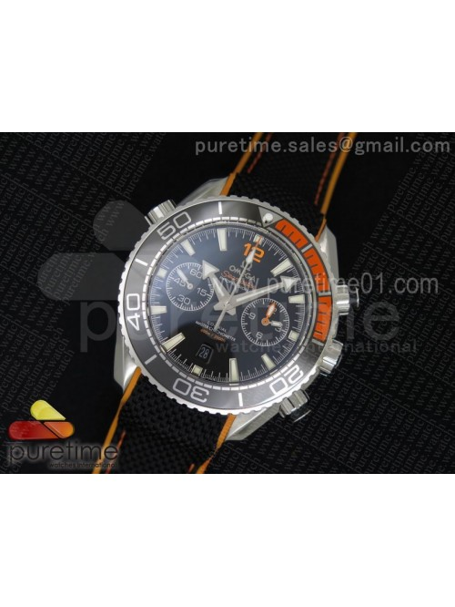 Planet Ocean Master Chronometer Chrono SS Black Di...