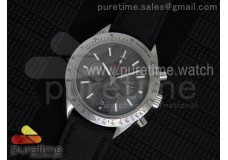 Speedmaster Co-Axial Chrono SS SS Bezel Gray Dial ...