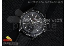 Speedmaster Co-Axial Chrono PVD Black Dial on Blac...